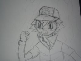 Angry Ash is Angry by SuperSonicFireDragon