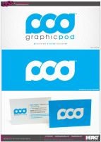 Graphic Pod logo by crezo