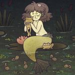 Swamp Mermaid by asmithart