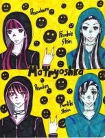 Monster High: Matryoshka by uber-neko