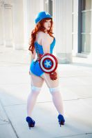 Miss Captain America IV by EnchantedCupcake