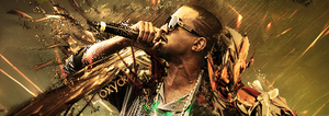 Kanye West signature by Alusionx