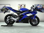 Yamaha R6 by Felipe-Roque