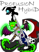 Profusion Hybrid tittle page by XGirlDeathX
