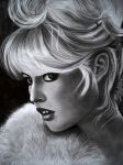BRIGITTE BARDOT by AngelasPortraits