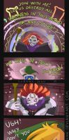 -- Zelda : A Link Between Worlds comic -- by Kurama-chan
