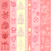 Christmas Pattern by josephine12cute