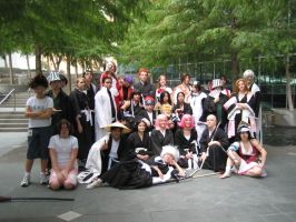 Bleach Photoshoot Group by jac