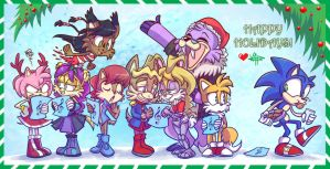 Merry Xmas Sonic 2 by vaporotem