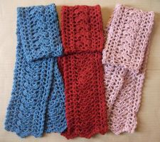 Three Scarves by MadeWithLove8