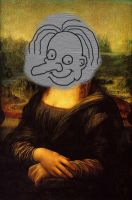 Mona Lisa Mr. Bean edition by martynasx