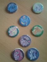 Elements of Harmony badges by Raedin