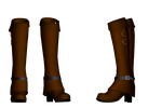 Steampunk shoes DL by Theshadowman97