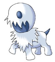Abby (Absol pre-evolution) by OriginalSuperSaiyan