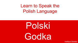 Learn to Speak the Polish Language by kasumigenx