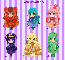 Adoptables -closed- by Tai-zhi