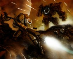 Tau Fire Warrior by HenryPonciano