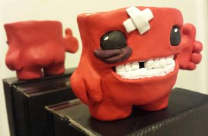 Meat Boy Sculpt (with back) by TweedLD