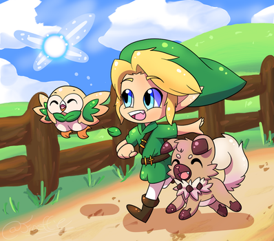 They're On An Adventure!!!!! by frostlie