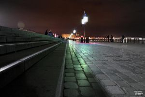 Bordeaux by night by AuroraxCore