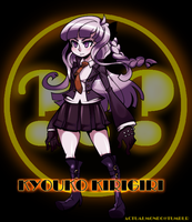 [DR x Skullgirls] Kyouko Kirigiri the Mystery Girl by princelupin