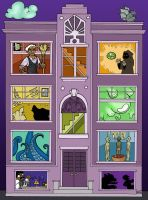 Welcome to Night Vale: Apartment Etiquette by elephantblue
