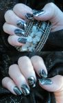 Silver marble by AmbisMortem