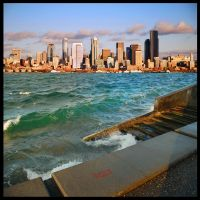 Alki Waves by 32tsunami