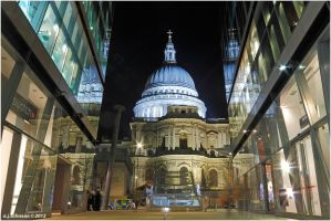 St. Pauls In Triplicate. by andy-j-s