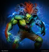 Electric Blanka by d-art-studios