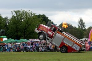 Wheelie Fire Truck 07 by gopherboy76