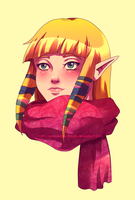 SS Zelda color practice by Queen-Zelda