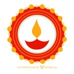 Traditional Diwali Festival Free Vector by vecree