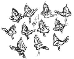 Daffy Faces by buster126