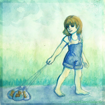 Walking the Fish by GalacticGraceArtwork