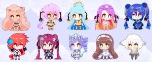 Mini Cheeb Batch 3 by PuffyPrincess