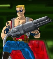 Duke Nukem with Ripper by Cybopath