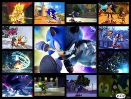 Sonic Unleashed Collage by SonicXBoom123