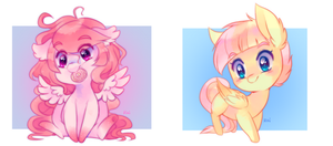 chibi pony batch 1 by pekou