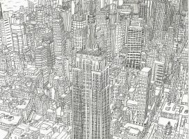 Midtown Manhattan II by NY-Disney-fan1955