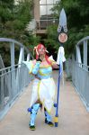 Erza Scarlet Lightning Empress Armor Cosplay- full by kariuchiha