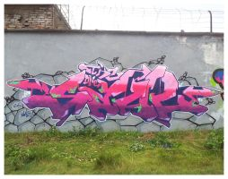 Prison Graffiti Jam 2012 by TheSaulOne