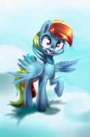 More Rainbow Dash by CarligerCarl