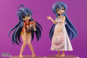 Lucky Star Izumi Konata and Kanata Wave PVC Figure by Dinara