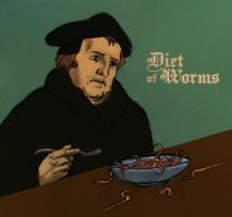 Diet of Worms by Swashbookler