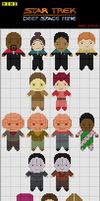 Star Trek DS9 Cross Stitch by black-lupin