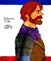 aSoIaF Edmure Tully by jubah