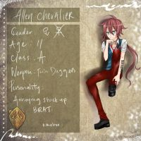 DoN : Allen Chevalier by WhackThatAlice