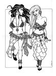 Two Dancing Girls of Bythunia by plt25