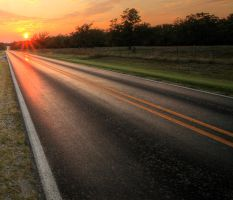 Sunset-road-hdr-crop2 by joelht74